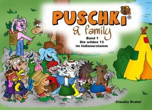 Cover Puschki & Family - eine Gute Nacht Geschichte