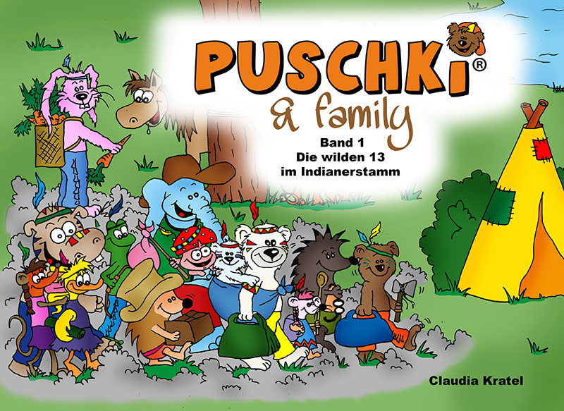 Bildergeschichten Puschki & Family