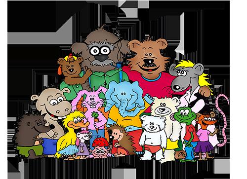 """Familie Spitzenstein - Kindergeschichten """"Puschki & Family"""""""