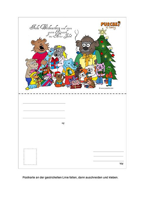 Weihnachtskarte_Puschki